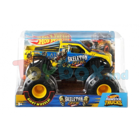 Mattel FYJ83 Masinuta Mattel Hot Wheels Die Cast Monster Truck Mega Wrex