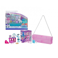 Hasbro My Little Pony E4967 Set de Joaca My Little Pony On-the-Go - Poneiul Rarity in Posetuta