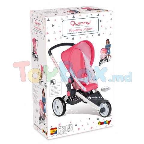 SMOBY 255098 Коляска Smoby Toys Maxi-Cosi & Quinny трехколесная