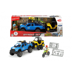 Dickie 3838003 Set SUV off-road - PlayLife, lumină și sunet, 48 cm